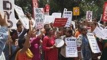Activistas reviven las protestas por un nuevo caso de violación en la India