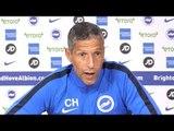 Chris Hughton Full Pre-Match Press Conference - Southampton v Brighton - Premier League