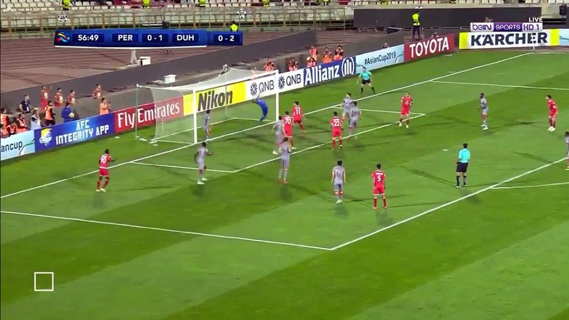 Persepolis Fc 3 1 Al Duhail Afc Champions League 17 09 2018 Quarterfinals Video Dailymotion