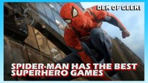Spider-Man Has The Best Superhero Games
