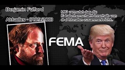 Benjamin Fullford Wochenbericht 19.09.2018 - auf Deutsch
