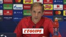 Tuchel «Faire un exploit demain face à Liverpool» - Foot - C1 - PSG