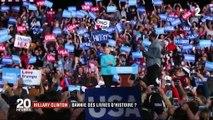 Hillary Clinton sera-t-elle bientôt bannie des livres d'Histoire ?