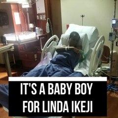 Linda Ikeji Welcomes Her Baby Boy In Atlanta