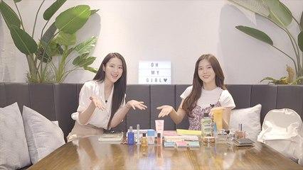 오마이걸 (OH MY GIRL) 의 지호가 데뷔 전에 모모였다고? (Feat. 향수 덕후 효정)   [백그라운드]