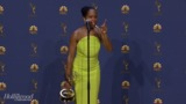 "Regina King Talks Emmy Win: ""My Heart is Giggling Still Right Now""   Emmys 2018"
