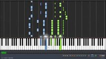 Gintama゜[銀魂゜] 2015 OP 4 {by DOES} - Know Know Know (Piano Synthesia Tutorial + Sheet)