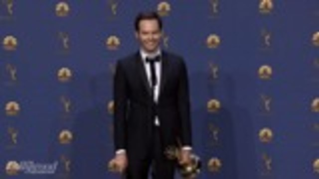 """Bill Hader On Emmys Acceptance Speech: """"I Legit Don't Know What I Said Up There""""   Emmys 2018"""