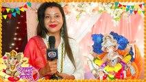 Sambhavna Seth House Ganpati | Shares Her Best Bappa Moment - Exclusive Interview | TellyMasala