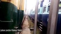 Indian Railways Samjhota Express & Pakistan Railway Rail Car at Lahore Railway Station