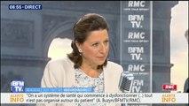 """""""Je ne pense pas que des supermarchés soient en capacité de nous aider pour la santé publique"""", estime Agnès Buzyn"""