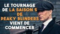 """Le tournage de la saison 5 de """"Peaky Blinders"""" vient de commencer !"""