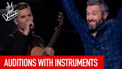 The Voice   TALENTED MUSICIANS in The Blind Auditions