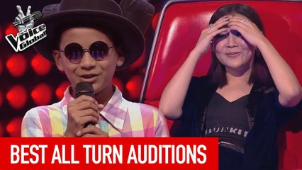 The Voice Kids   Best ALL TURN Blind Auditions worldwide [PART 3]