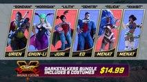 Street Fighter V : Arcade Edition - Les costumes Darkstalkers