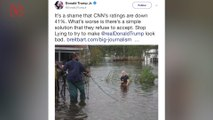 CNN's Anderson Cooper Accuses Donald Trump Jr. of 'Tweeting Lies' With Old Hurricane Photo