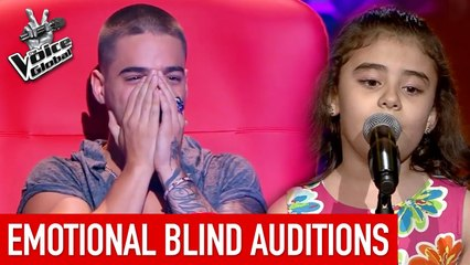 MOST EMOTIONAL Blind Auditions in The Voice Kids