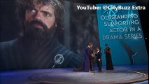 70th Emmy - Game of Thrones Peter Dinklage Wins Best Supporting Actor at 2018 EMMY Awards