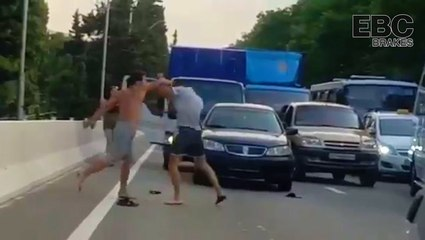 An Embarrassing Case Of Road Rage Shuts Down A Highway