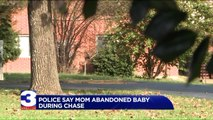 Mom Accused of Abandoning Baby During Wild Police Chase