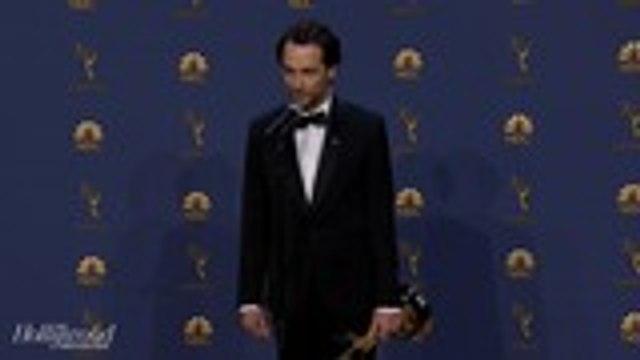 Matthew Rhys Talks Emmy Wins for 'The Americans'   Emmys 2018