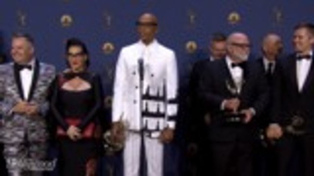RuPaul Talks Emmy Win for Best Reality Competition Series   Emmys 2018