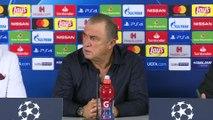 Galatasaray - Lokomotiv Moskova maçının ardından - Galatasaray Teknik Direktörü Fatih Terim(1) - İSTANBUL