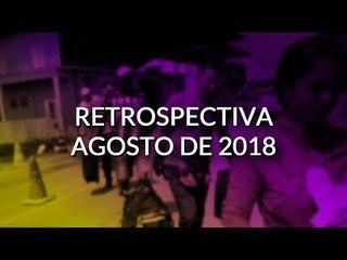 RESUMO DE AGOSTO DE 2018