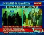SC to resume hearing in the Bhima Koregaon case