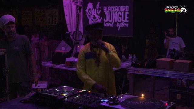 BARRY ISAAC ft Blackboard Jungle live @ Dub Academy 2018