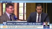 """Audition de Benalla: """"Pourquoi a-t-il été à ce point protégé? La réponse n'est pas totalement donnée"""", dit le député LR Philippe Gosselin"""