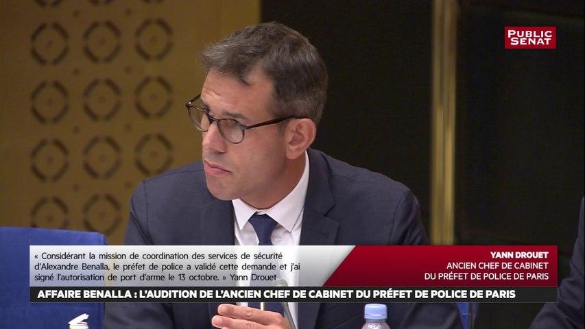 « Ce n'est pas pour sa sécurité personnelle que le port d'arme lui a été octroyé », tente de clarifier Yann Drouet