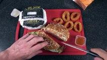 [BURGER KING] Que valent les BURGERS CAESAR Beef & Chicken  - Studio Bubble Tea Food