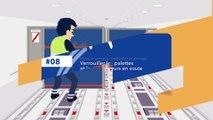 Sécurité des vols, agir ensemble au sol - Verrouillage des palettes et des conteneurs en soute