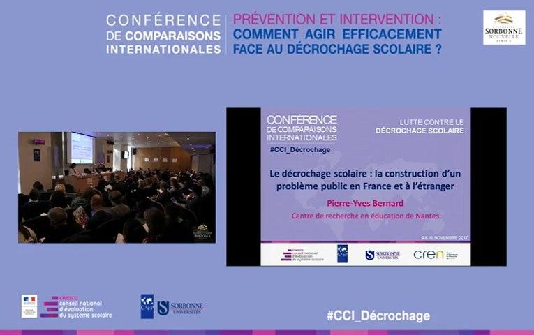 Décrochage scolaire en France et à l'étranger