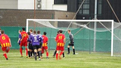 COUPE GAMBARDELLA. FC LAMBERSART - NEUVILLE FAN 96 : 2 - 2 (4-5 ap)