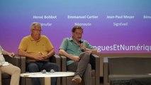 : L&N 2018 #7 - Quels sont les enjeux sociétaux des ressources linguistiques? ( table ronde)