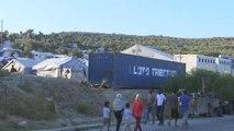 Migrants : le camp de Moria à Lesbos saturé - 19/09/2018