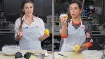 Elizabeth Olsen Tries to Keep Up with a Professional Chef