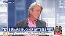 """Benalla: """"On en fait trop, ce n'est pas une affaire d'Etat"""" estime Bernard Kouchner"""