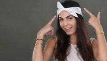 4 تسريحات شعر سريعة باستخدام عصبة الرأس يمكنكِ تطبيقها من دون مرآة حتّى!