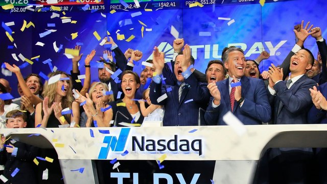 Cannabis Leader Tilray Sees Boom and Bust, in a Matter of Minutes
