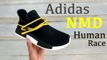 size 40 27834 91e1b HOW TO Custom Off-White x Pharrell Human Race NMD - video ...