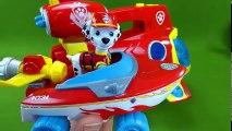 Paw Patrol Toys Rescue Captain Turbot from the PJ Masks Romeo's Lab Playset Sea Patrol Sub Patroller