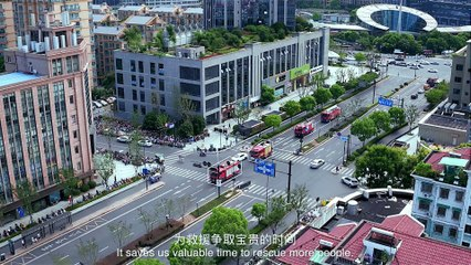 #CityStory: ET City Brain To Help The Firefighters In Hangzhou