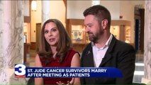 Childhood Cancer Survivors Marry After Meeting as Patients at Hospital