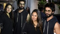 Mira Rajput at Shahid Kapoor's Batti Gul Meter Chalu screening; Watch Video | FilmiBeat