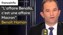 """""""L'affaire Benalla, c'est une affaire Macron"""", estime Benoît Hamon"""