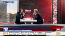 """Européennes: """"J'espère que Thierry Mariani (LR) va nous rejoindre"""", déclare Sébastien Chenu (RN)"""