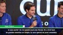 Laver Cup - Federer et Djokovic en double : ''Une expérience unique !''